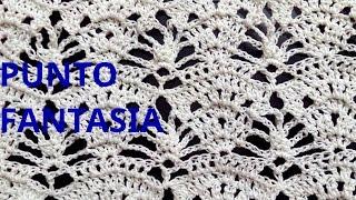 Punto Fantasia Nº 68 En Tejido Crochet Tutorial Paso A