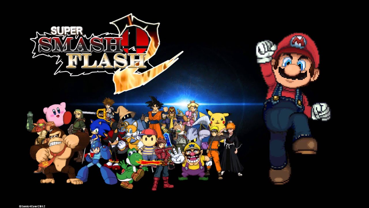 super smash flash 2 com