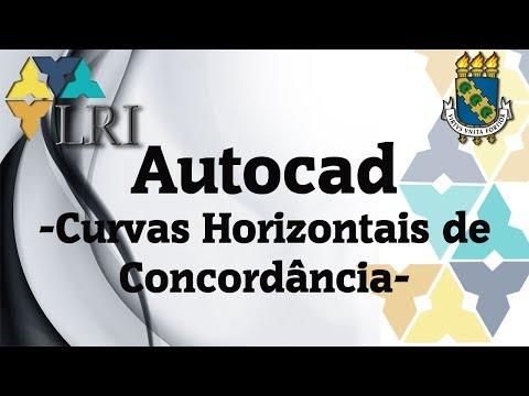 Tutorial Autocad. Curvas Horizontais de Concordância *Projeto2