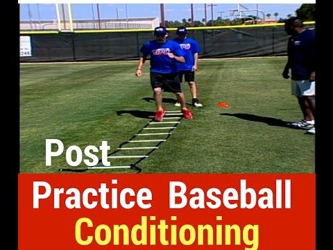 Post Practice Baseball Conditioning