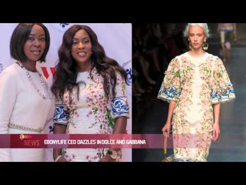 EBONYLIFE TV CEO DAZZLES IN DOLCE AND GABBAND - EL NOW News