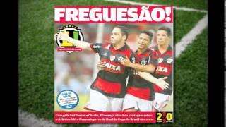 Jornal carioca diz que Galo � fregu�s do Flamengo