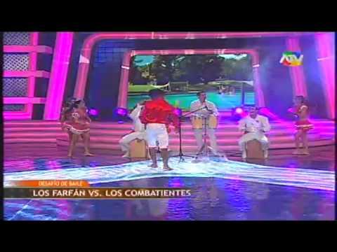 COMBATE Las chicas de combate bailan festejo 26/07/13