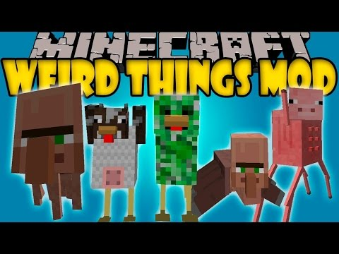 Minecraft PC mods 1.7.10: What kind of Quay tay :D Weird thing mods