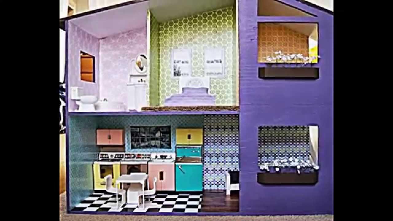 Puppenhaus selber bauen und spielecke im kinderzimmer - Traumzimmer gestalten ...
