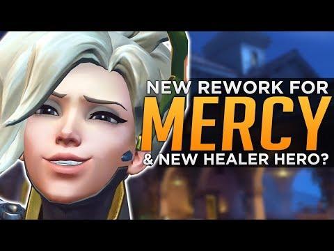 Overwatch: Mercy BUFF / RE-WORK Coming! - NEXT HERO A Healer!?