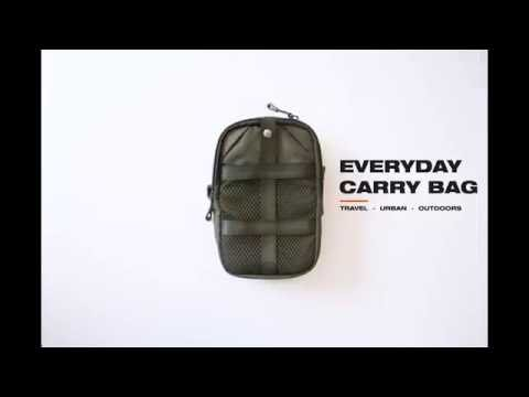 Connect Everyday Carry Bag (Black)