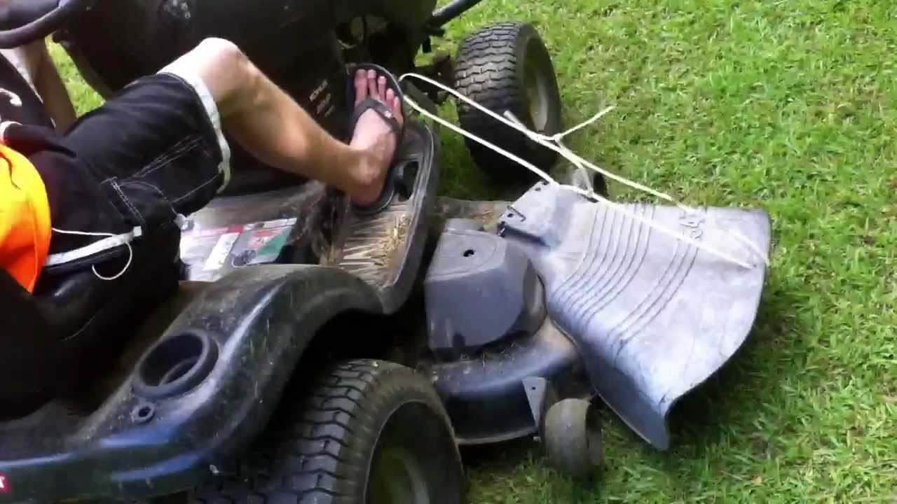 Craftsman Riding Mower Tip Easy Clipping No Bagger Or