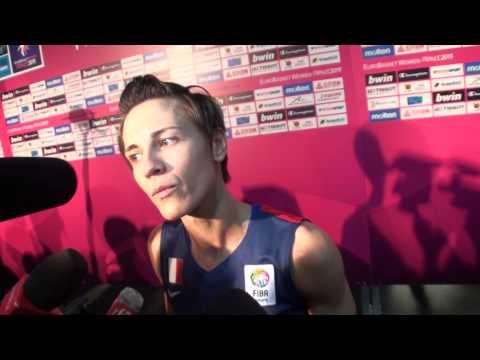 Eurobasket 2013: Celine Dumerc