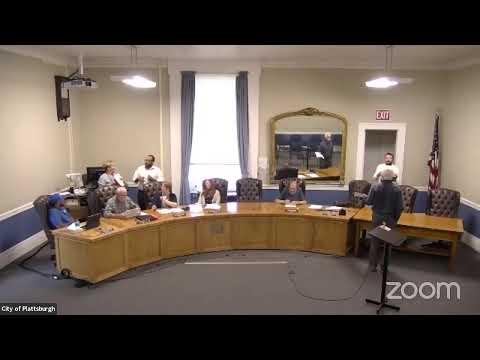 Plattsburgh Common Council Special Meeting  7-29-21