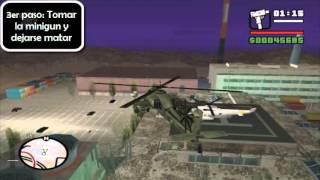 GTA San Andreas Como Obtener La Minigun (Infinita) HQ