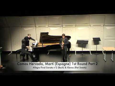 Comas Hervada, Martí Espagne 1st Round Part 2