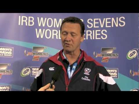 USA vs England - Ric Suggit's post-game comments at Houston Sevens