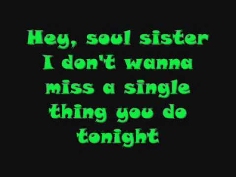 Train - Hey Soul Sister (HQ + With Lyrics)