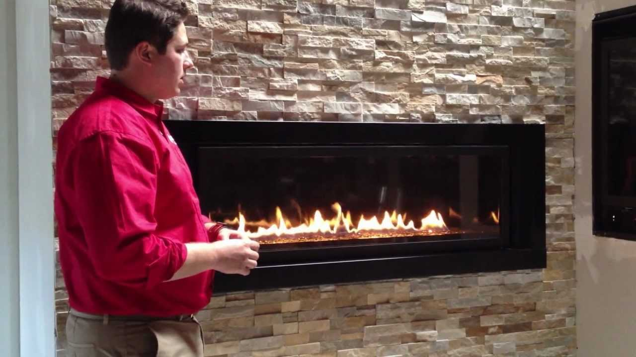 Napoleon Linear Gas Fireplace 5th Avenue Propane Natural