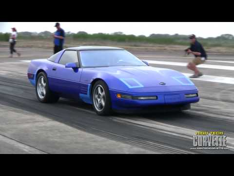 ZR1 Corvettes at the Texas Mile - March 2011