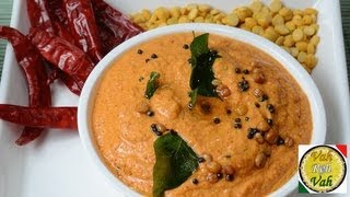 Red Chilli Hot Coconut Chutney ..