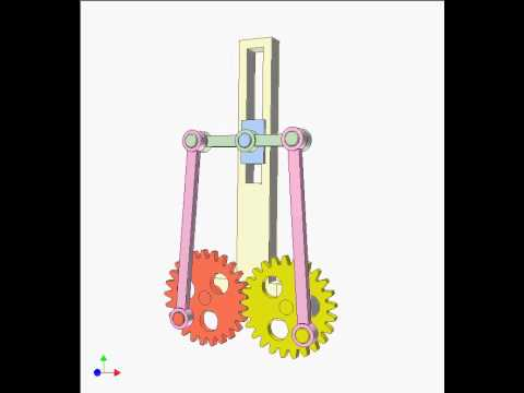 Gear and linkage mechanism 9b