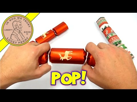 Holiday Crackers, a UK Tradition! - 2013 Christmas Candy & Snack Series