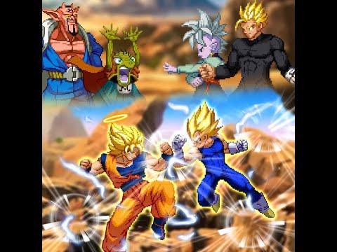 Dragon Ball Heroes Mugen - Goku SSJ2 vs Majin Vegeta