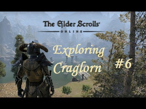 The Elder Scrolls Online: Exploring Craglorn (Part 6) Dark Elf Battlemage - Aldmeri Dominion
