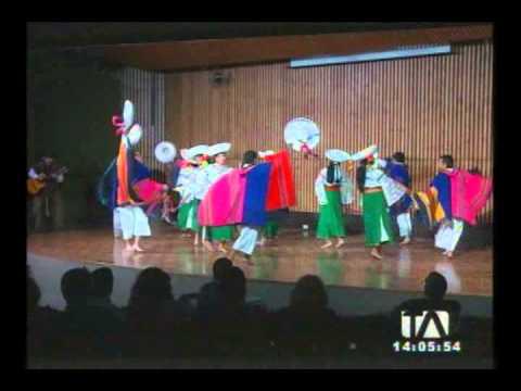 Grupos folklóricos participarán en el festival Coiff Ecuador