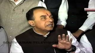 Subramanian Swamy at his best - Sonia, Rahul in jail