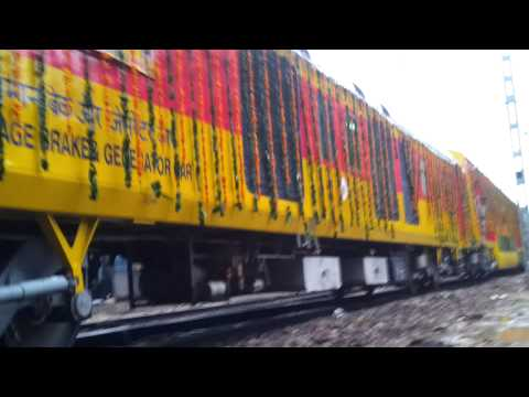 Delhi-Jaipur double-decker train flagged off