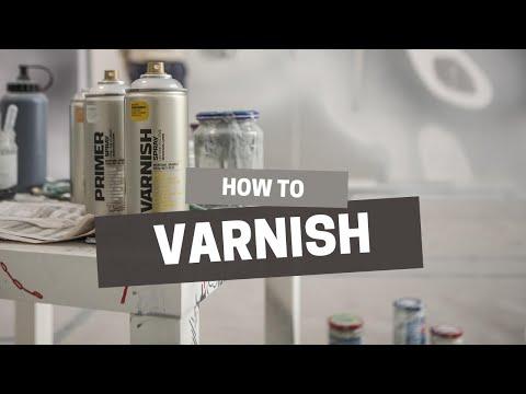 Montana Gold Matt Varnish Spray Can - 400ml