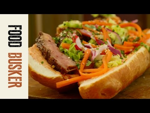 Banh Mi Recipe | Food Busker