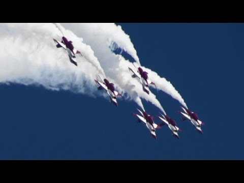 RSAF Black Knights Republic of Singapore Air Force Singapore Air Show 2014