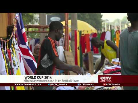 World Cup fever booms business in Ghana