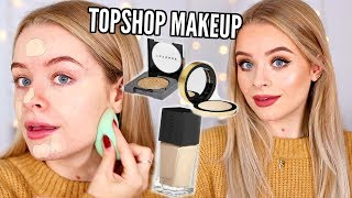 FULL FACE NEW TOPSHOP MAKEUP!! EVERYTHING UNDER £16 AD | sophdoesnails