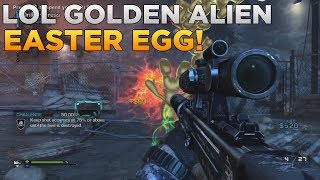 Call Of Duty: Ghosts LOL Golden Alien Easter Egg On