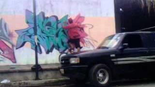 Grafiteros en accion