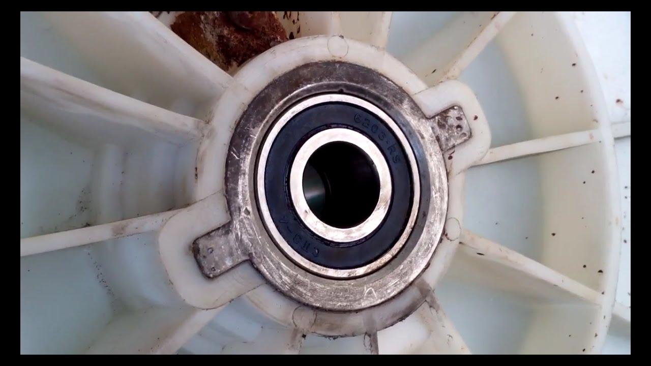 Замена подшипника ремонт стиральную машин самсунг