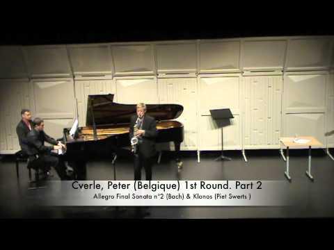 Cverle, Peter (Belgique) 1st Round. Part 2
