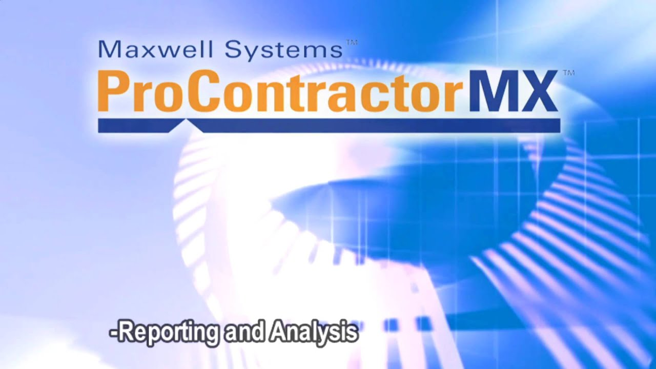 Maxwell systems procontractormx at conexpo con agg youtube for Maxwell construction software