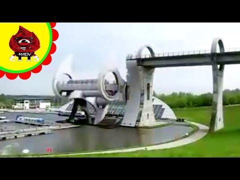 Quái lạ chiếc cầu xoay tròn thật sáng tạo  - Chuyện Quái Lạ