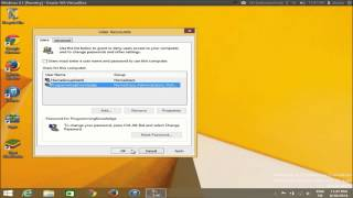 How To Remove Login Password At Startup On Windows 8