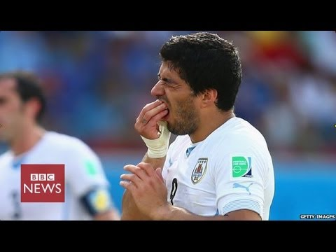 Suarez banned for 9 months over Chiellini 'bite' incident in Brazil - BBC News