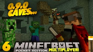 "Minecraft PE Multiplayer 0.9.0 EP 6 ""0.9.0 Caves"" PE SMP"