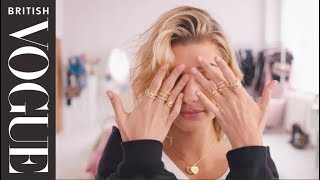 The Full Look With Hailey Baldwin | British Vogue & Pandora