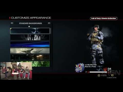 news: Call of Duty: Ghosts (Extinction) - Character Customization - IGN Live