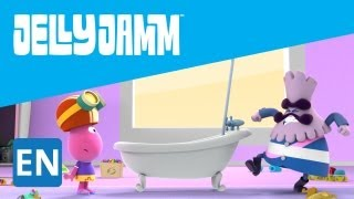 Jelly Jamm. Flying Bathtub. Children's Animation Series