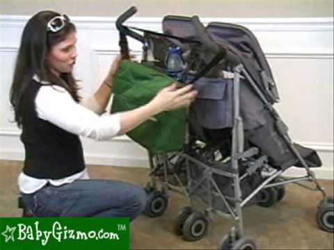 baby gizmo maclaren twin techno stroller review youtube. Black Bedroom Furniture Sets. Home Design Ideas