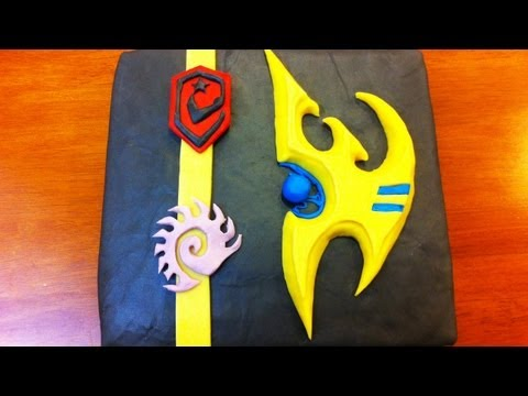 STARCRAFT 2 CAKE - NERDY NUMMIES