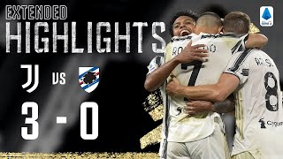 Juventus 3-0 Sampdoria | Juventus Start Season In Style! | EXTENDED Highlights