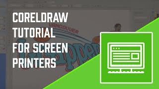 How-To Screen Print: Corel Draw Tutorial for Screen printers - Screen Printing 101 DVD pt 5 view on youtube.com tube online.