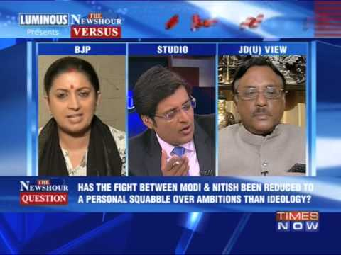 The Newshour NHR Versus: Narendra Modi barb, Nitish Kumar counter - Part 2 (12th March 2014)